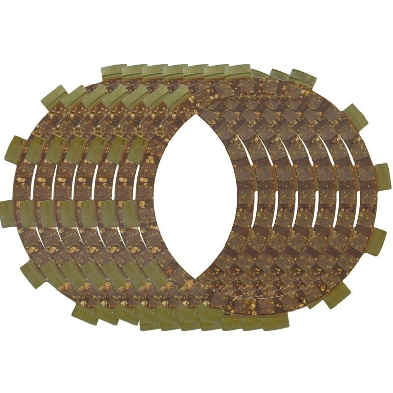 100% Brand New Motorcycle Engine Parts Clutch Friction Plates Kit For Yamaha YZ125 WR250 WR250X 250R TTR250 WR25X R Motorbike