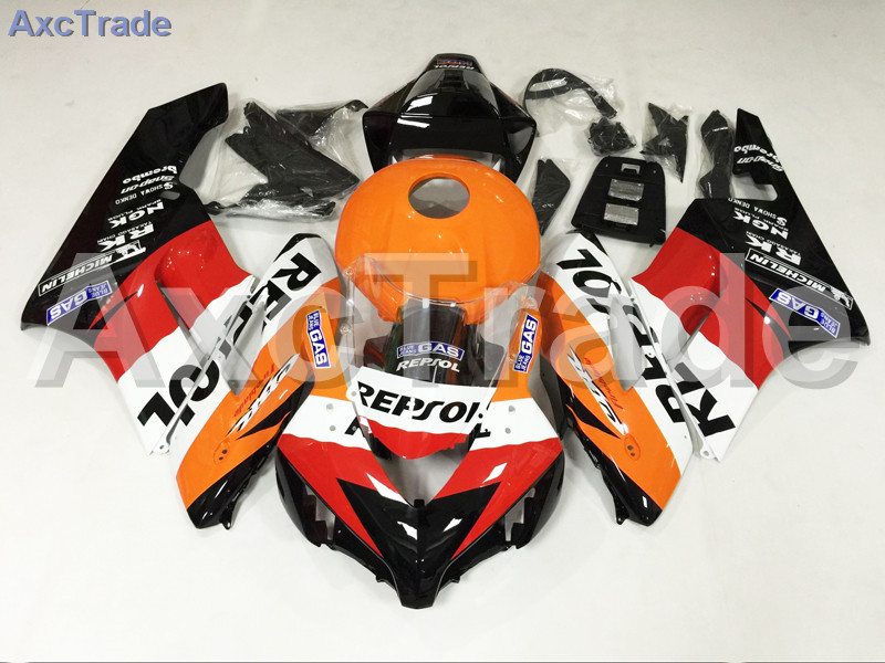 Motorcycle Fairings For Honda CBR1000RR CBR1000 CBR 1000 RR 2004 2005 ABS Plastic Injection Fairing Bodywork Kit Yellow Red A551 injection mold fairing for honda cbr1000rr cbr 1000 rr 2006 2007 cbr 1000rr 06 07 motorcycle fairings kit bodywork black paint