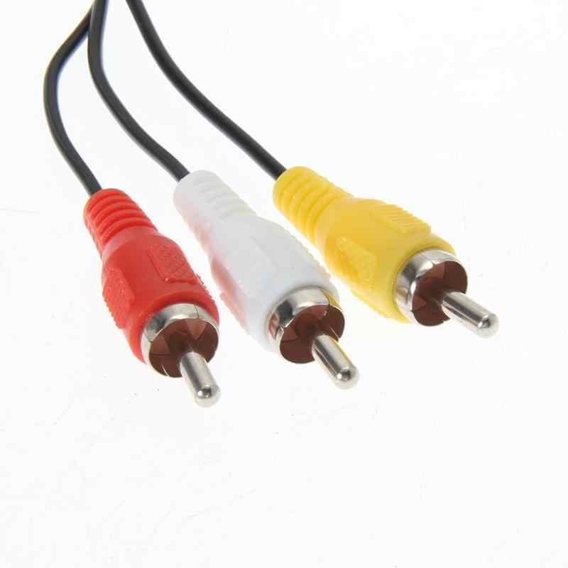 6FT 1.8 M الصوت الفيديو كابل AV إلى RCA لسوني PS2 PS3 بلاي ستيشن نظام