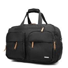 Hohe kapazität kurzarm Tragbare Reisetasche Weibliche Reisetasche Schulter Männlichen Tasche Wasserdicht Gepäck Fabrik Direkt