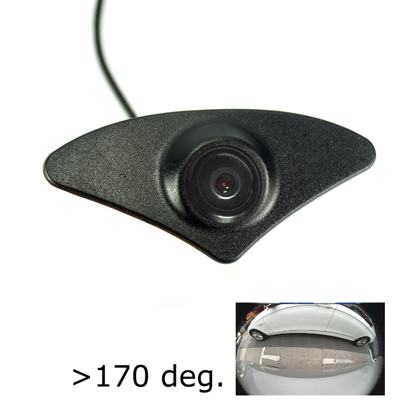 Camera Mazda Wide-Angle Night-Vision for Car CCD HD Front Waterproof 180deg Positve-View