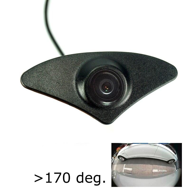 CCD HD Car Front View Camera For Mazda 6 ATENZA 2015 2016 Forward Positve View Camera Waterproof  180deg Wide Angle Night Vision