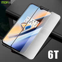 Oneplus 6t Glass one plus 6t Tempered Glass OnePlus 6T Screen Protector MOFi 1+6T Full Cover clear OP6T Tempered Glass Film