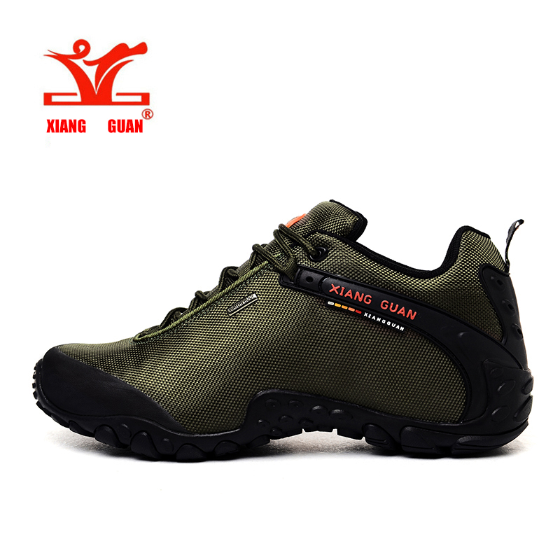 2017 Outdoor Hiking shoes Plus Size man&women Anti-skid fishing Athletic Trekking Boots Women Climbing Walking Sneaker 81283 women genuine leather outdoor hiking shoes women sport travel camping walking shoes trekking hiking sneakers women plus big size