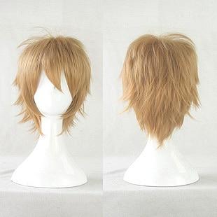 Togami Byakuya Blonde Short M Shape Styled Gy Layered Cosplay 6krqhqh Jpg Hair Styles Cuts