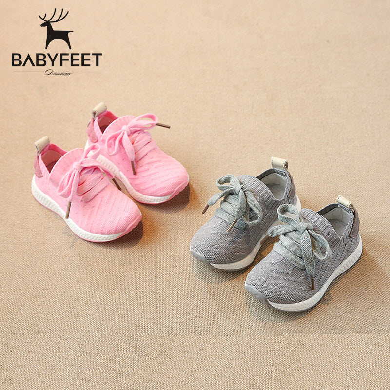 Babyfeet New Children shoes light solid boys sport shoes little kids casual shoes girls breathable running shoes toddle Sneakers