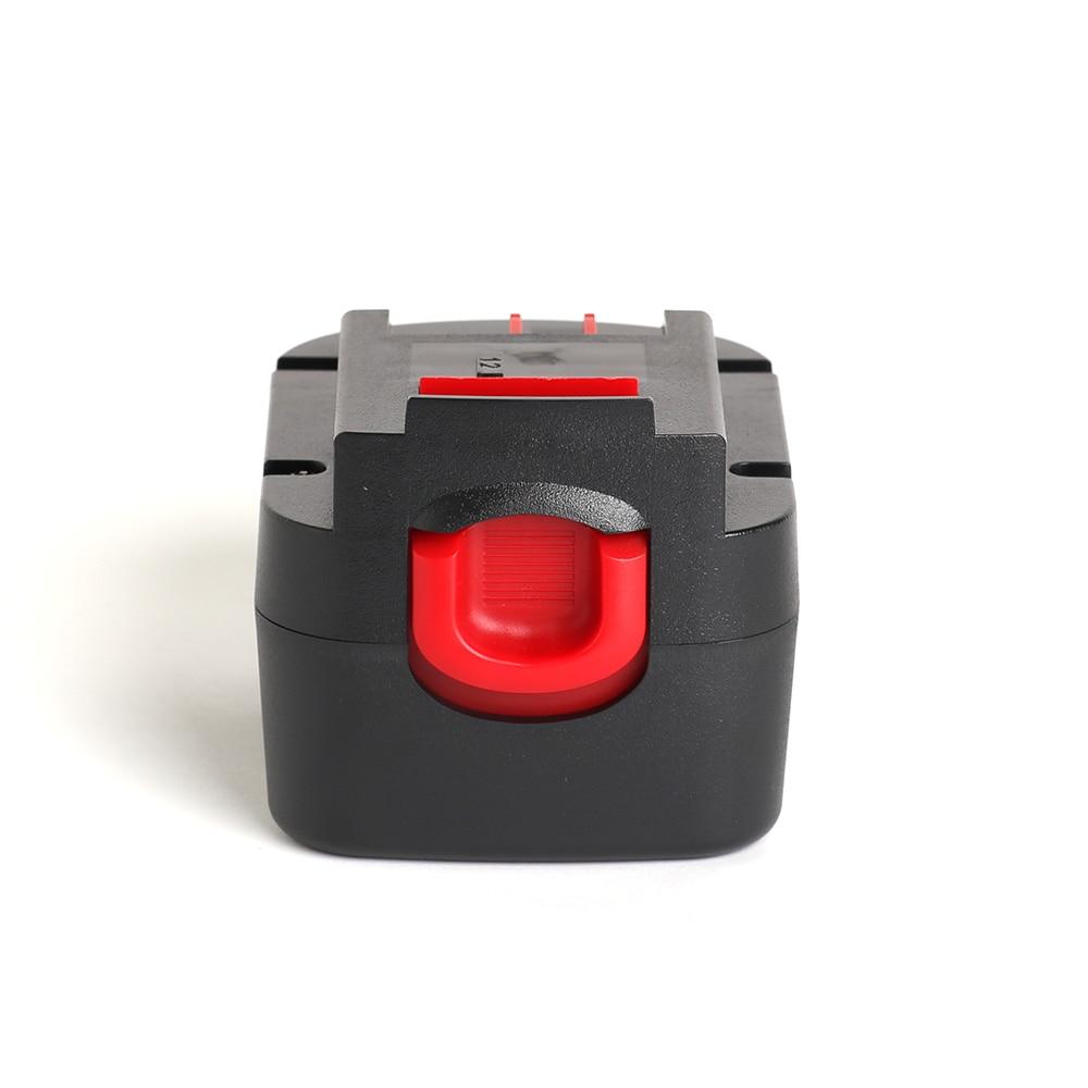 for Black&Decker 12V 2000mAh/2.0Ah power tool battery FSB12,BD1204L,BD-1204L,B-8315,BPT1047,A12,HPB12,A12-XJ,A12EX,A1712,FS120B