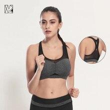 HTLD Mesh Running Vests Fitness Yoga Sports Bra Ladies Gym Shockproof Sport Tank Tops Exercise Vest Bras for femme Camis by176