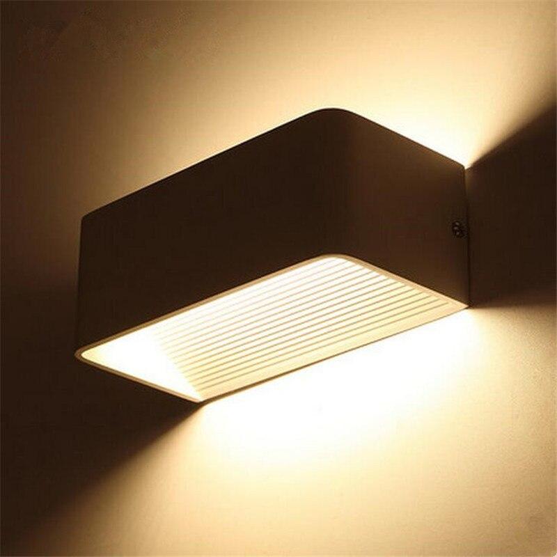 Led Outdoor-wandlampe Moderne Ip65 Wasserdichte Led-wandleuchte Up Unten Beleuchtung Lampe Aluminium Garten Villa Veranda Leuchten Wandleuchte 85 ~ 260 V Licht & Beleuchtung