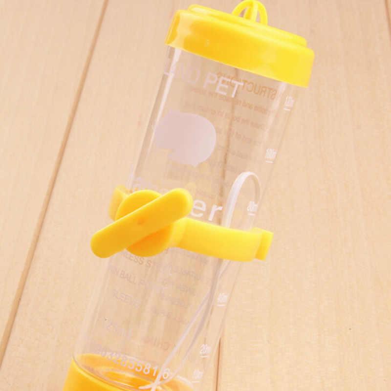 1PC 80ML Treo Thú Cưng Chó Mèo Bát Tự Động Uống Đầu Ống Đài Phun Nước Ăn Nhựa Hamster Nước giá Đỡ Hộp Đựng