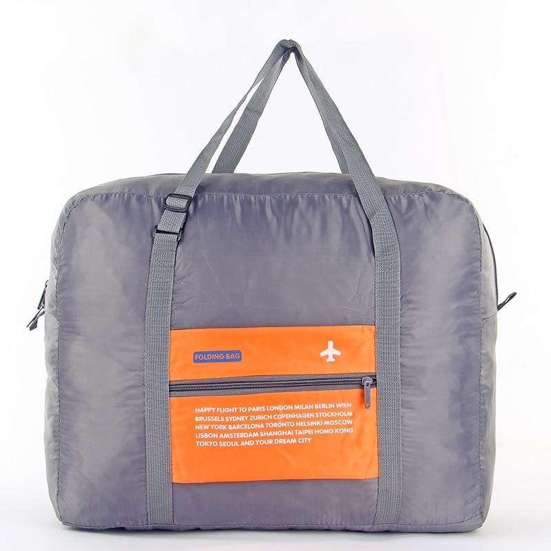 IUX Fashion WaterProof Travel Bag Large Capacity Bag Women Nylon Folding Bag Unisex Luggage Travel Handbags Unisex Travel Bags