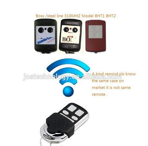 Compatible Boss BHT1 ,Boss bht3 replacement remote control 310MHZ top quality DHL free shopping