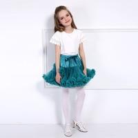 Freies Verschiffen Baby Mädchen Kleidung Chiffon-Ballettröckchen pettiskirts Flauschigen Prinzessin Partei Röcke Balletttanzabnutzung Kinder Petticoat Kleidung
