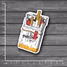 May I smoke? Waterproof PVC Laptop Stationery Sticker Car Styling Home decor jdm Decal For kid Toy Suitcase Stickers[single]