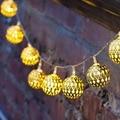 1 м из светодиодов рождественские огни новый год ну вечеринку свадьбы украшения дома, Гирлянда огни строки, Аккумулятор для 10 шт., Крытый открытый лампы