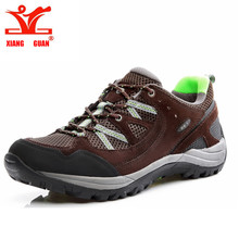 XIANG GUAN New men Women Outdoor shoes High quality suede shoes sales outdoor sport shoes for