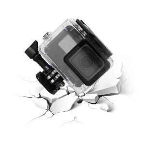 Image 4 - SnowHu ل Gopro بطل 7 6 5 اكسسوارات مقاوم للماء حماية الإسكان حالة الغوص 45 متر واقية ل Gopro بطل كاميرا LD08