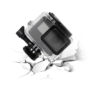 Image 4 - SnowHu for Gopro Hero 7 6 5 Accessories Waterproof Protection Housing Case Diving 45M Protective For Gopro Hero Camera LD08