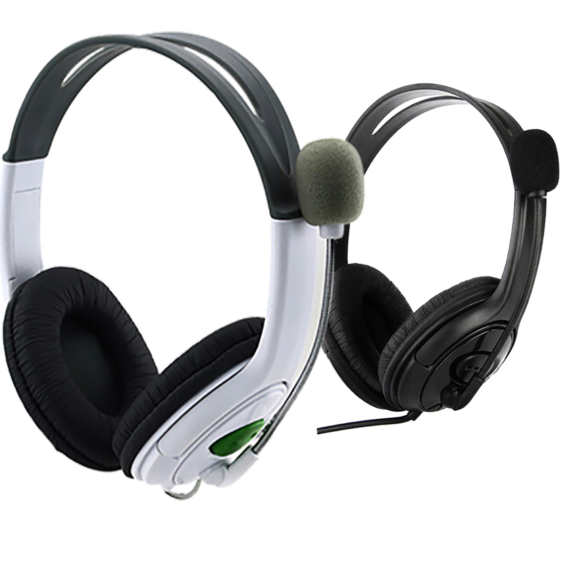 Marsnaska PC Gamer Over-ear Game Gaming Headphone Headset usb dual Earphone Headband with Mic Stereo Bass for ps3 pc