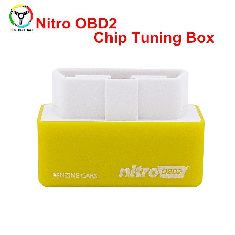 Высокое качество более Мощность/больший крутящий момент Интерфейс безопасной и стабильной Nitro OBD2 ЭБУ чип инструмент настройки автомобилей-...