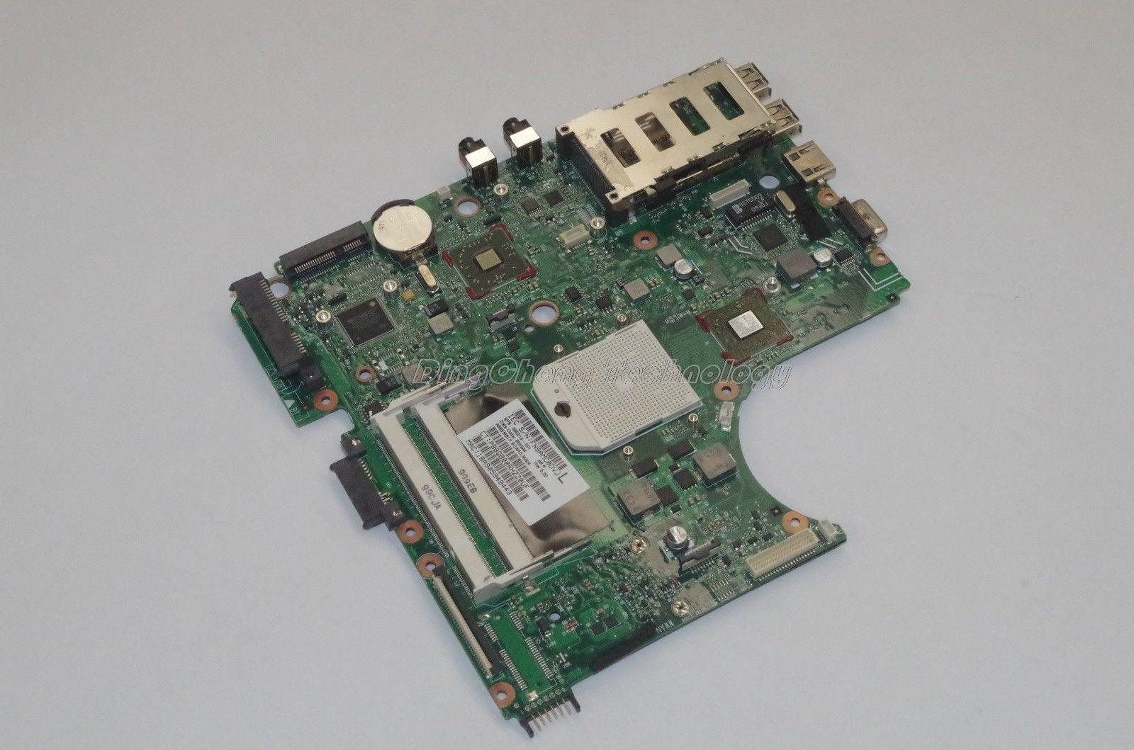 SHELI laptop Motherboard For hp 4515s 4415s 4416s 585219-001 for AMD cpu with integrated graphics card 100% fully tested OK 585221 001 fit for hp probook 4515s 4416s laptop motherboard mainboard 100% tested ok