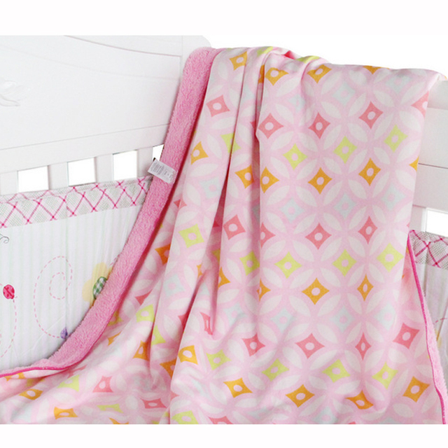 Flannel Baby Blanket Winter Baby Blankets Newborn Soft Cover For Stroller Thicken Plush Cotton Receiving Blanket Manta Bebes