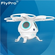 FLYPRO Squid WIFI FPV 720P Camera Optical Flow Positioning RC Quadcopter Control by Phone