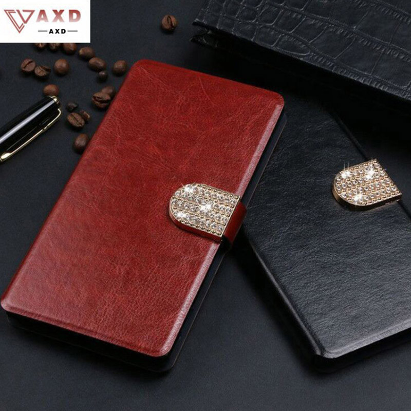 AXD Business High Quality Leather Cover for ZTE Blade A110 330 510 512 520 601 602 610 Fashion Stand Flip Phone Case For L110