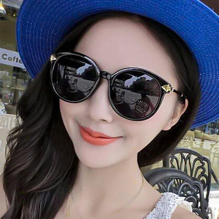 2016 новый большой солнцезащитные очки и стрелка ретро круглая рамка солнцезащитные очки бутик моды очки оптовая