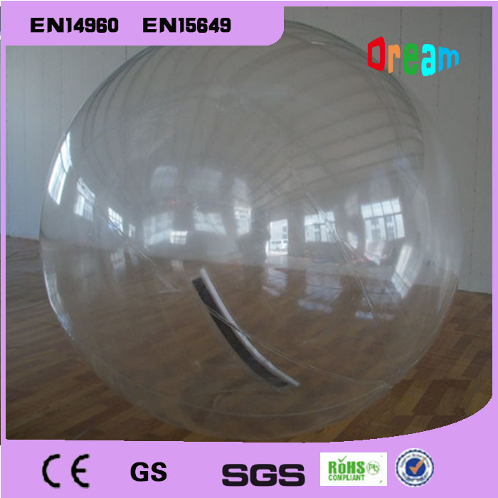 Free Shipping 2m 0.8mm PVC Inflatable Water Walking Ball without handle Human Hamster Ball Inflatable Zorb Ball Body Zorb Ball factory price inflatable water walking ball water zorb ball