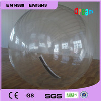 Free Shipping 2m 0.8mm PVC Inflatable Water Walking Ball without handle Human Hamster Ball Inflatable Zorb Ball Body Zorb Ball