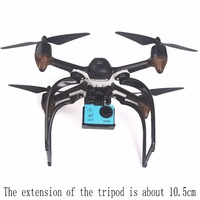 Hubsan H501S X4 FPV 5,8G sin escobillas con cámara 1080P HD GPS RC Quadcopter interruptor de modo RTF y 3 uds de batería