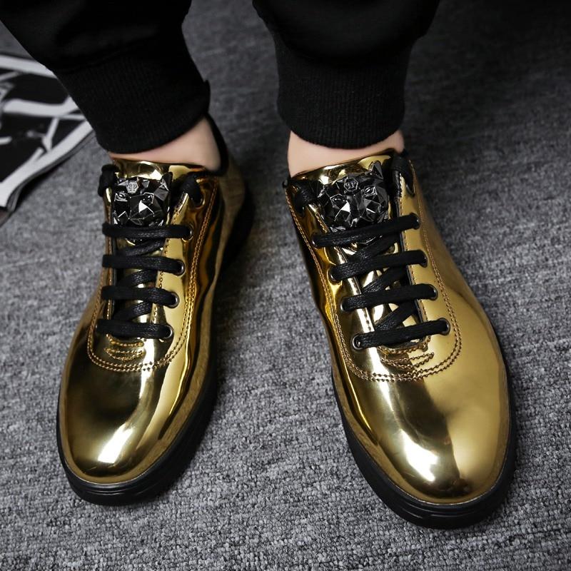 TOSJC 2018 Gaya Baru Pria Mode Luar Kasual Sneaker Lace Up - Sepatu Pria - Foto 6
