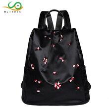 Mlitdis бренд леди новый Вышивка уникальный хороший школьная сумка Ethinic путешествия рюкзак Сумки на плечо Для женщин Национальный стиль рюкзак