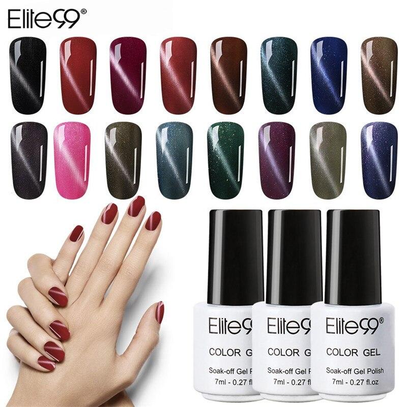 Elite99 7 ml Magnetic Cat Eyes Gel Polish 1 unids Easy Soak Off UV - Arte de uñas - foto 1