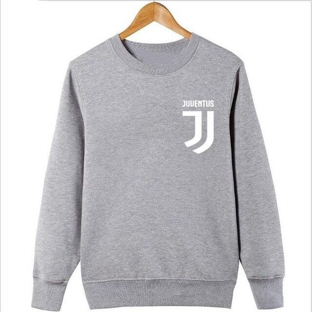 2017 Man Juventus print Sportswear Hoodies male Hip Hop Fleece Long Sleeve Hoodie Slim Fit Sweatshirt Hoodies for men Streetwear 3