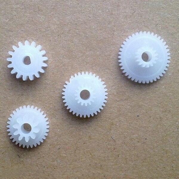 VTOP VT-POS58G print head gears rubber roller gear 4pcs for 1 set support Alipay nnata