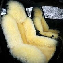 цены на TO YOUR TASTE car seat cushion set wool for LIFAN 320 330 520 520i X60 X50 720 620 630 530 820 320E winter autumn warming trendy  в интернет-магазинах
