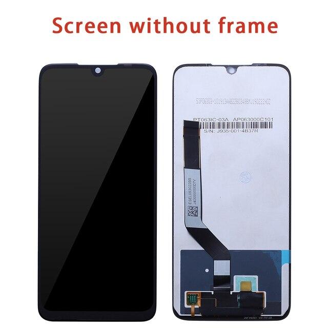 """6.3 """"สำหรับ Xiaomi Redmi หมายเหตุ 7 LCD Touch Screen digitizer Assembly สำหรับ Redmi หมายเหตุ 7 pro จอแสดงผล LCD กรอบ Redmi NOTE7 LCD"""