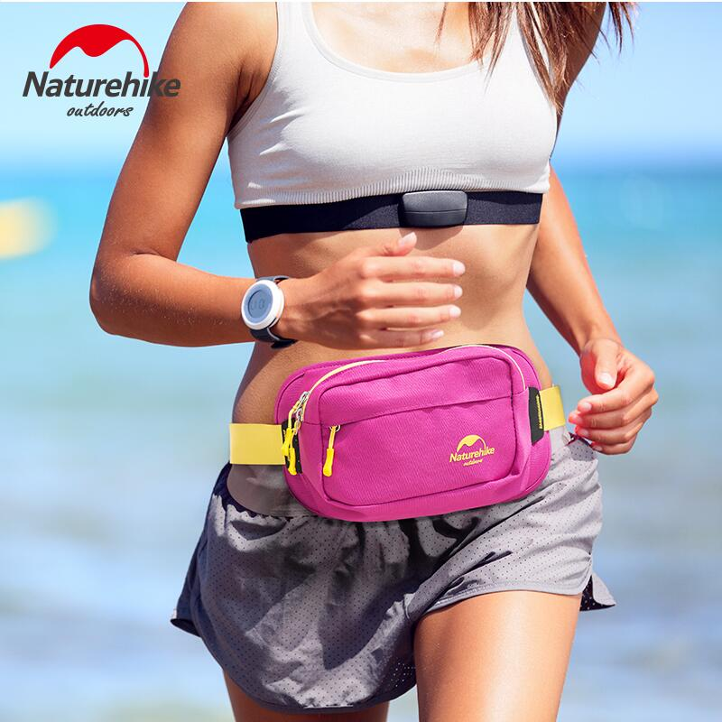 Naturehike Unisex Multifunction Chest Pouch Waist Bag sport bag Running Waist Pack Waist Bag Waterproof Cycling Phone Bags women s nylon multifunction travel bags funny chest pack men waist pack hiqh quality waist bag unisex shoulder bag bolso cintura