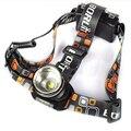 Barato! 1800Lm Cabeça Luz XM-L T6 LED 3-Mode Foco Ajustável Lanterna Tocha Zoom Farol Farol Lanterna Frontal