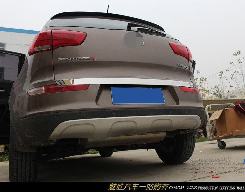 Высококачественная Задняя Крышка багажника из нержавеющей стали для KIA Sportager 5dr