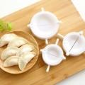 Behogar 3 шт. DIY инструмент для изготовления пельменей Китайский инструмент для изготовления пельменей форма для ravоли тестопресс кондитерский ...