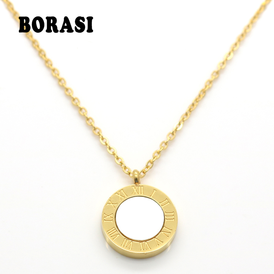 Back To Search Resultsjewelry & Accessories Black Resin Female Jewelry Set Roman Letter Stainless Steel Gold Plating Pendant Necklace Earring Girl Luxury Brand Jewellery