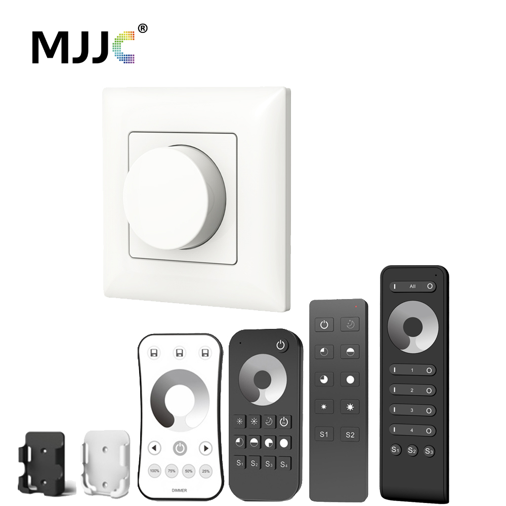 Triac Led Dimmer 220v 230v 110v Ac Wireless Rf Dimmable Knob Light Switch Eu With 24g Remote Controller For Bulb Lamps Ks In Dimmers From Lights