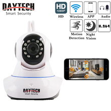 DAYTECh Wireless IP Camera WiFi Home Security Camera HD 1080P Baby Monitor Motion Detection Alarm Two-way Audio Night Vision
