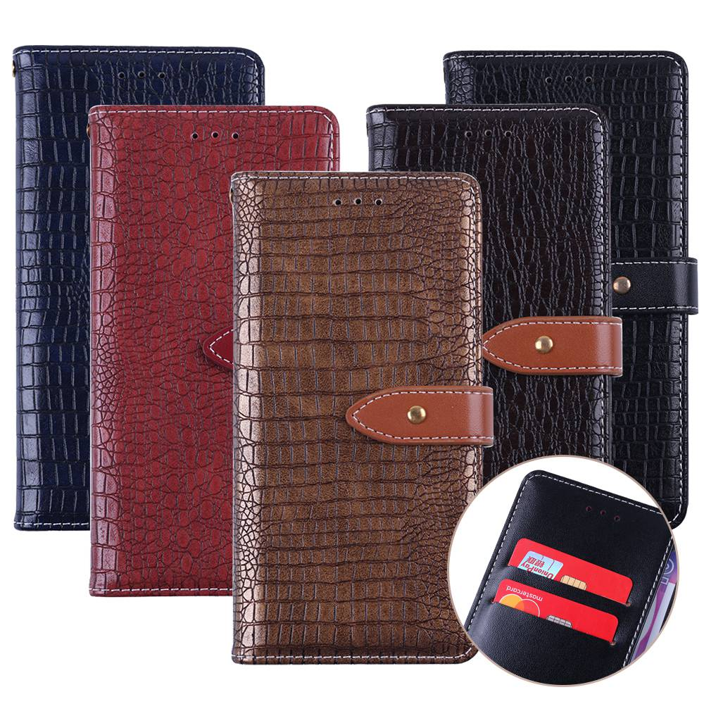 UTOPER For ZTE Blade A6 Luxury Wallet Case Hold PU Leather Flip Case For ZTE Blade A521 A520 A512 A475 A310 Fashion Card Slots