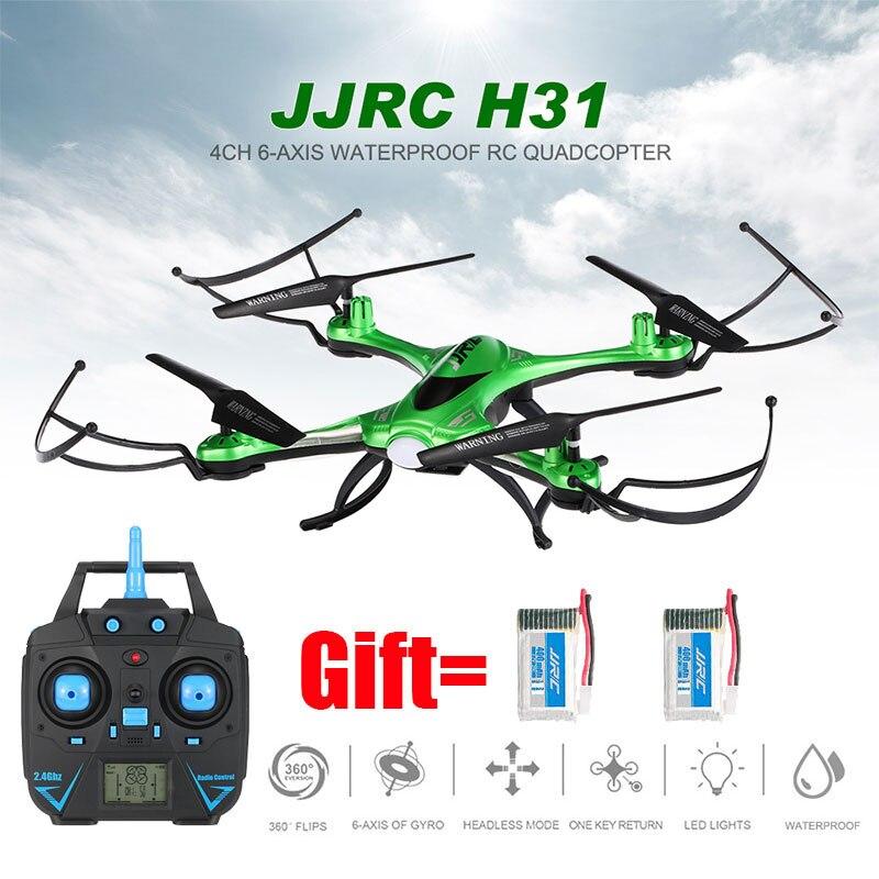 Drone JJRC H31 Nenhuma Câmera Ou Com Câmera à prova d' água Ou Wi-fi Câmera FPV Headless Modo RC Helicóptero Vs Syma X5c Quadcopter Dron