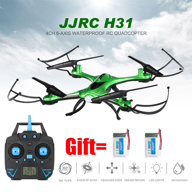 Drone JJRC H31 Nenhuma Câmera Ou Com Câmera à prova d' água Ou Wi-fi FPV Câmera Modo Headless Quadcopter RC Helicóptero Vs Syma x5c Dron