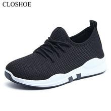 Купить с кэшбэком 2019 CLOSHOE Genuine spring and summer women's shoes sneakers slow running shoes women's single shoes casual shoes loafers cloth